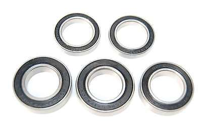 5 Pack - 6802 61802 15x24x5mm 2RS Bearings