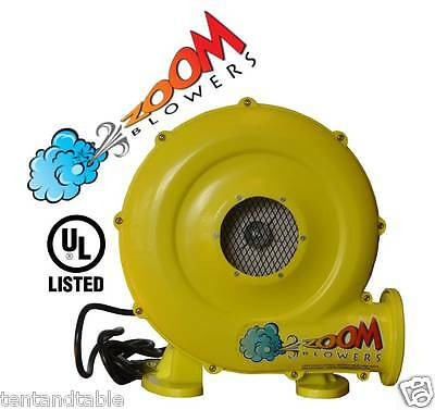 Air Blower Pump Fan 450 Watt 0.64HP For Inflatable Bounce House Bouncy Castle