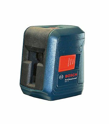 NEW Bosch GLL2 Self-Leveling Cross-Line Laser with MM2 Flexible Mounting Device