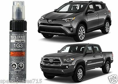 Genuine Toyota 00258-001G3-21 Magnetic Gray 1G3 Touch-Up Paint Pen New Free Ship