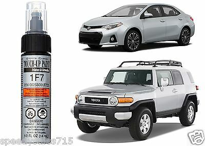 Genuine Toyota 00258-001F7-21 Classic Silver Mica Touch-Up Paint Pen New USA