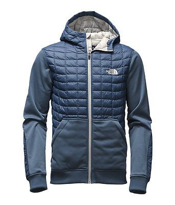 The North Face Men's KILOWATT THERMOBALL Insulated Hoodie Jacket Shady Blue M