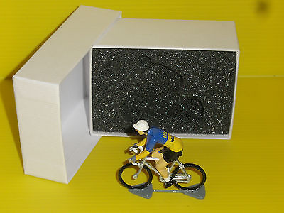 FIGURINE CYCLISTE - CYCLIST FIGURE - BOX  COLLECTION - 1927 - Dilecta - Wolber
