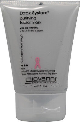 D:tox System Purifying Facial Mask, Giovanni Hair Care Products, 4 oz