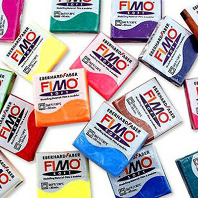 FIMO SOFT 56g Polymer Moulding Clay Blocks