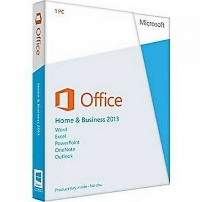 Office home and business 2013 32/64bit Multilingua - Rilascio Fattura