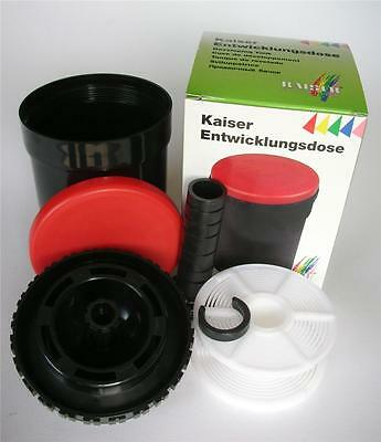Kaiser 4296 Universal Film Developing Tank With One Reel Dev Tank 1 Spool