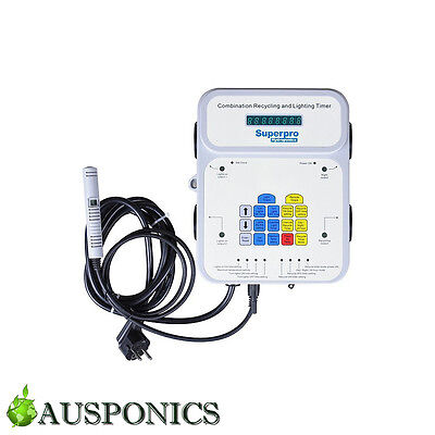 SUPERPRO CRL-1 Recycling and Lighting Timer for Hydroponics