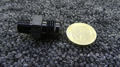 AN -6 AN6 BLACK JIC Flare to 1/8 NPT STRAIGHT MALE Hose Adapter FIT SKODA