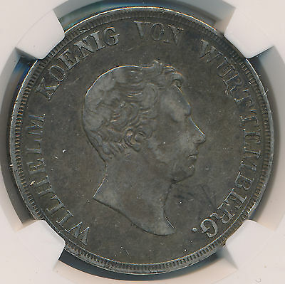 Germany Taler 1825 Wurttemberg - NGC VF 35