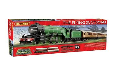 Hornby OO Flying Scotsman Electric Train Set Brand New R1167