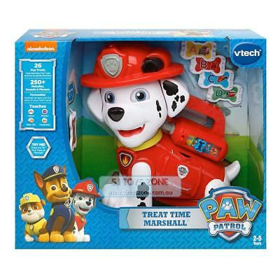 Vtech Treat Time Marshall Paw Patrol Kids Toy 26 Pup Treats 250+ Sounds & Phrase