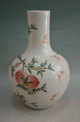 A Large and Important Chinese Qing Dynasty Famille Rose Vase