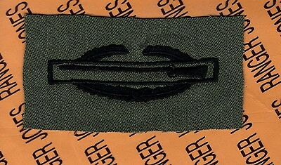 US Army CIB Combat Infantrymans Badge OD Qualification cloth 1st award patch C