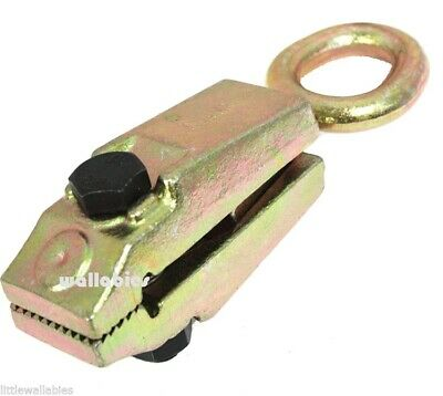 Self tightening 5 Ton Frame And Body Repair Small Mouth Pull Clamp 11000 lbs