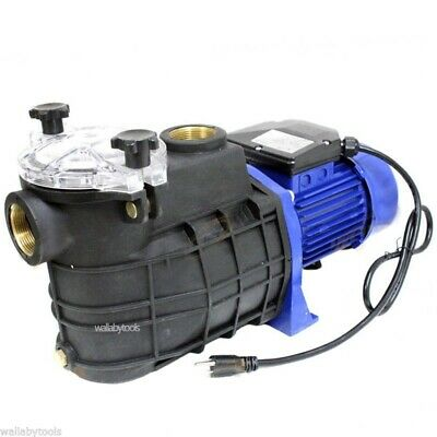 New 1.5 HP Swimming Pool Spa Fountain Electric Water Pump 110V
