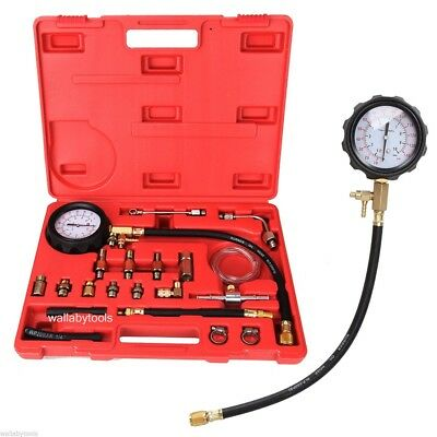 New 0-140 PSI Fuel Injection Pump Injector Tester Test Pressure Gauge Gasoline