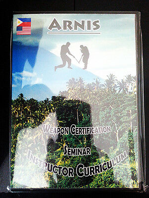 Arnis Martial Art Instructor Course - certification kali silat home study mma