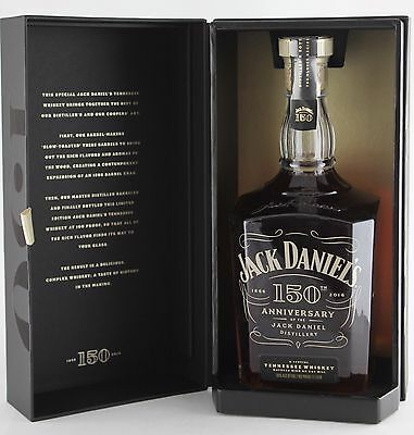 Jack Daniels Tennessee Whisky 150th Anniversary Limited Edition 1 Litre