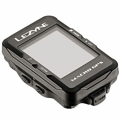 Lezyne Macro GPS Navigate Weather Resistant Cycle Computer With Bluetooth