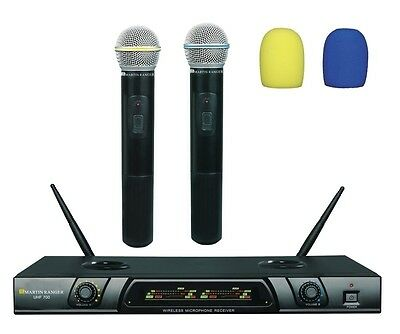 Martin Ranger Rechargerable wireless mic- UHF-700 Microphone NEW