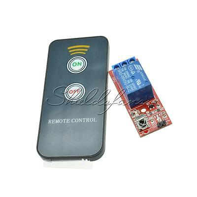1 Channel Infrared Switch Relay Driving Module Board 5V Remote Control LED New