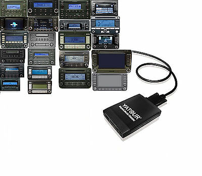 USB SDHC AUX In Adapter CD Wechsler Interface MP3 VW TOURAN R50 2007-2009