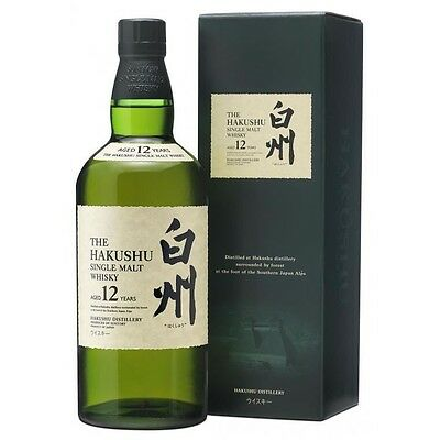 Suntory Hakushu 12 Year Old Japanese Single Malt Whisky 700ml - whiskey Japan