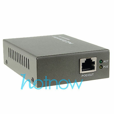 PoE Extender 100-400meter IEEE 802.3at Power over Ethernet Repeater IP Camera