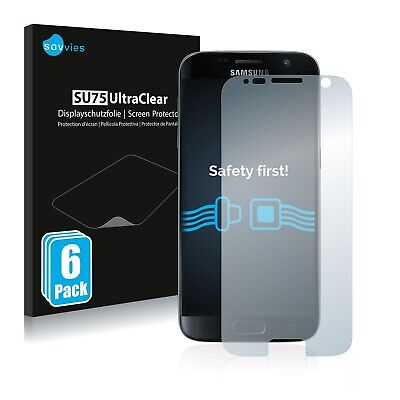 6x Savvies Screen Protector for Samsung Galaxy S7 Ultra Clear