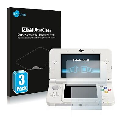 6x Savvies Screen Protector for Nintendo New 3DS Ultra Clear