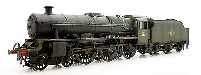 O Gauge Kit Built 'northern Rhodesia' Br Green Weathered Jubilee Loco 45621
