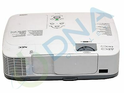Nec M271X Hdmi Digital Projector - 2927 Lamp Hours Used - Grade A