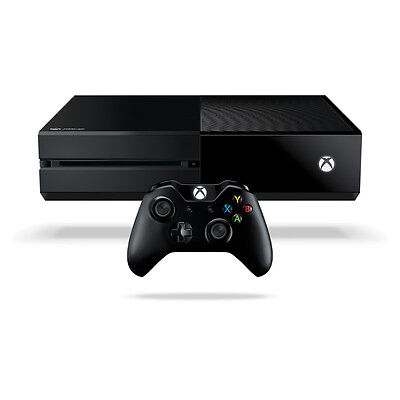 Microsoft Xbox One 1TB Black Console Good Condition