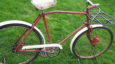 Post Office Bike Old Pashley Made Original Good Untouched Condition