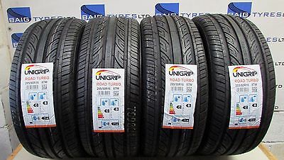x4 205 50 16 205/50R16 87W M+S UNIGRIP NEW TYRES *AMAZING RATINGS C/B* CHEAP!