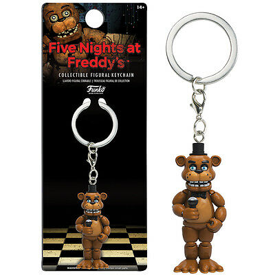 Five Nights at Freddy's Keyring - Freddy