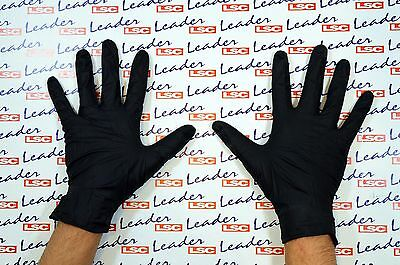 Black Mamba - Heavy Duty Super Strong Chemical Resistant Workshop Nitrile Gloves