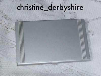 Lightweight Alloy Business Card/Credit Card Holder Only £1.99
