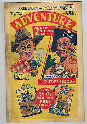 ADVENTURE COMIC No. 831 from 1937 D. C. Thomson