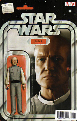 STAR WARS (2015) #24 Action Figure VARIANT Cover