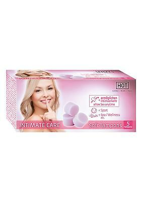 Intimate Care Soft Tampons Menstration Designed To Be Used During Sex Pack of 5