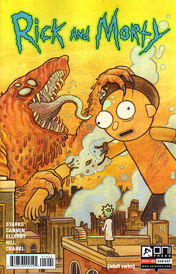 RICK AND MORTY (2015) #19 Tait Howard VARIANT Cover