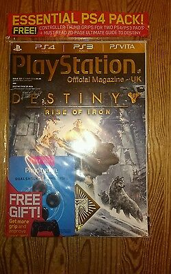 Playstation Official Magazine October 2016 - Destiny Rise of Iron Thumb Grips