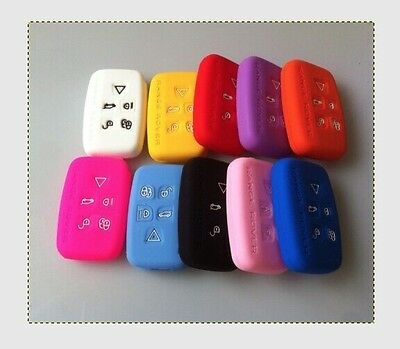 Land Range Rover Key Cover Button Silicone Discovery Freelander Evoque