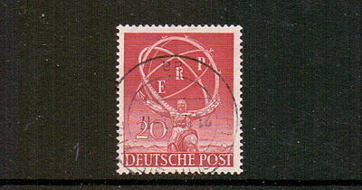 GERMANY - BERLIN 1950 20pF ERP FINE USED CAT £55