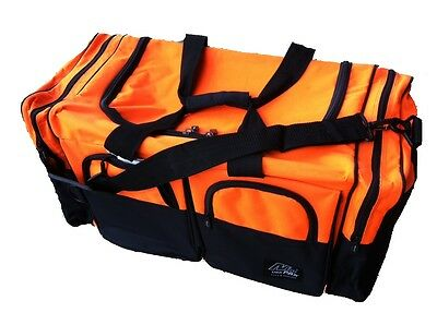 NEW 100L WATER-PROOF LARGE Sports Bag Travel Duffel, TT130 ORANGE