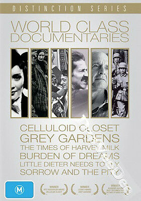 World Class Documentaries (6 Films) NEW PAL Arthouse 7-DVD Set Rob Epstein