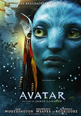 Avatar Movie Print Poster 8x10 A4 Glossy Cinematic *GREAT GIFT*