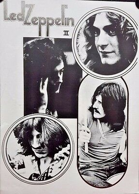 2 x LED ZEPPELIN posters. FREE INT SHIPPING